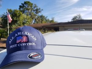 DeBary Pest Control Hat