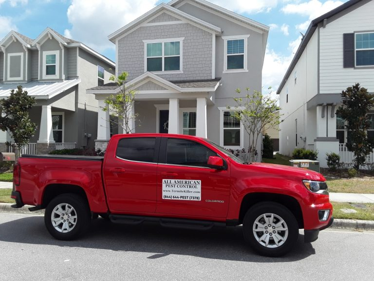 DeBary Pest Control Truck